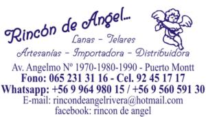 Contact - Rincón de Angel Avenida Angelmó 1990 Puerto Montt - Chile
