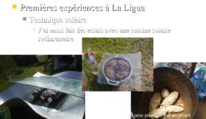 Tests de teinture solaire à Longotoma (La Ligua)