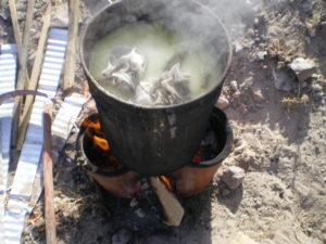 Ma cuisinière péruvienne à l'épreuve