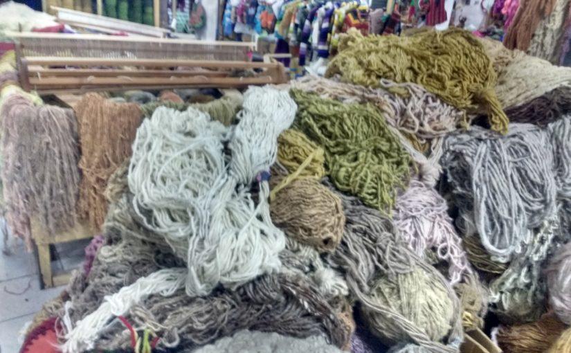 Heureuse de pouvoir vous montrer mes laines