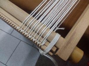 Détail du montage de la chaîne sur la barre régulateur