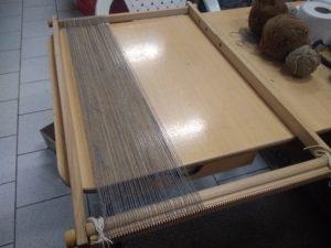 Nouvelle chaîne en alpaga gris filé industriellement