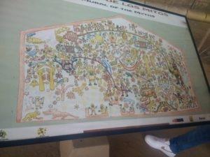 Mural des Mythes, Huaca de la Luna, Pérou